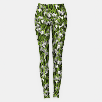 Thumbnail image of Snowdrops Leggings, Live Heroes