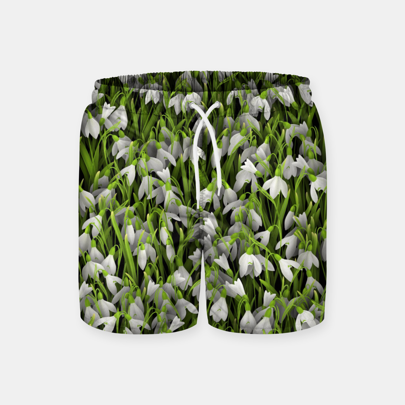 Image of Snowdrops Swim Shorts - Live Heroes