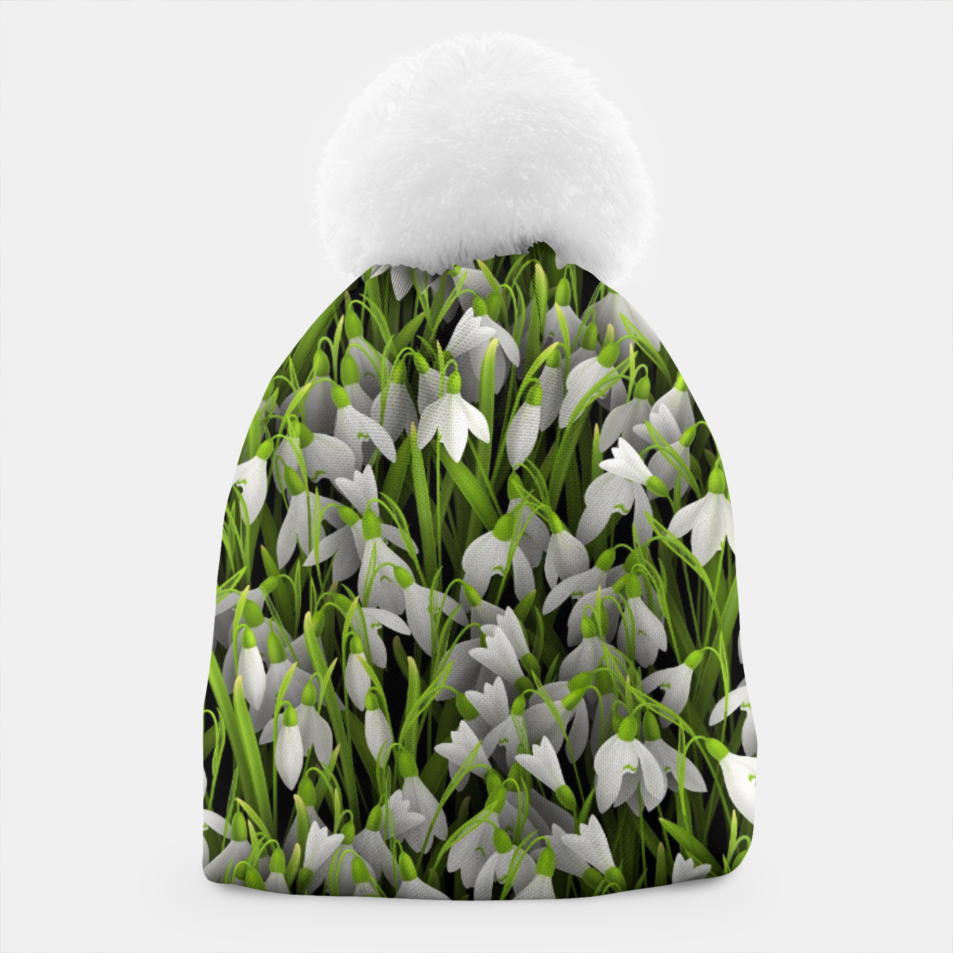 Image of Snowdrops Beanie - Live Heroes