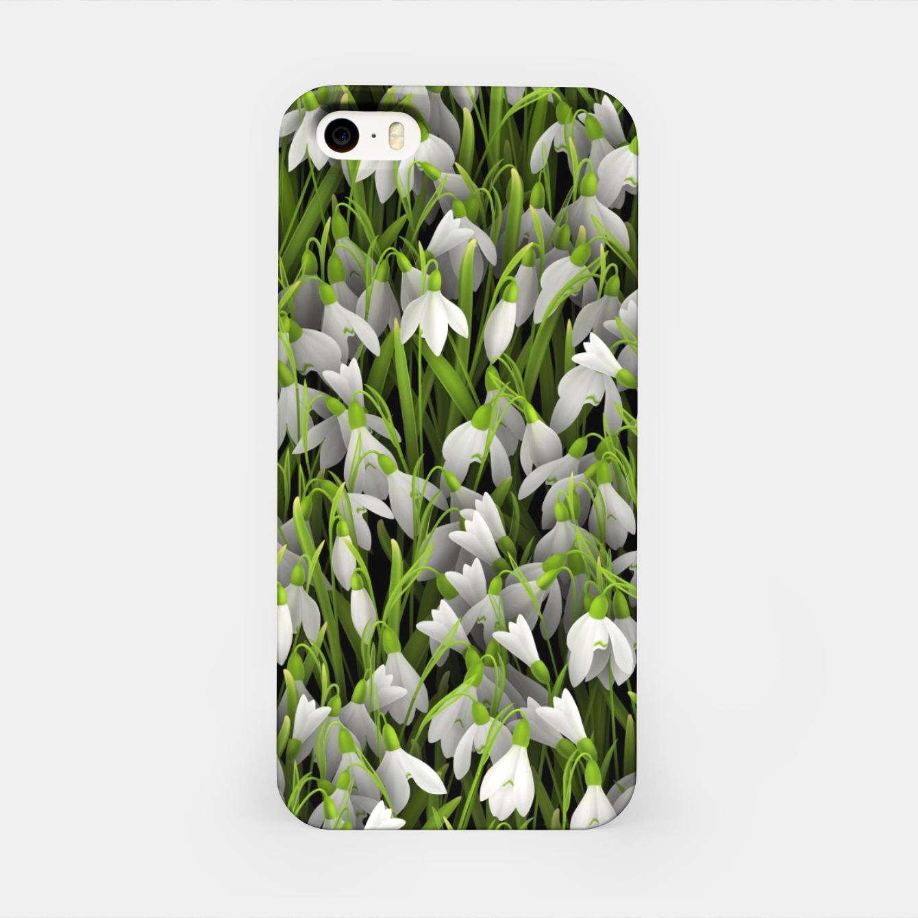 Image of Snowdrops iPhone Case - Live Heroes