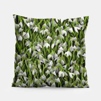 Thumbnail image of Snowdrops Pillow, Live Heroes