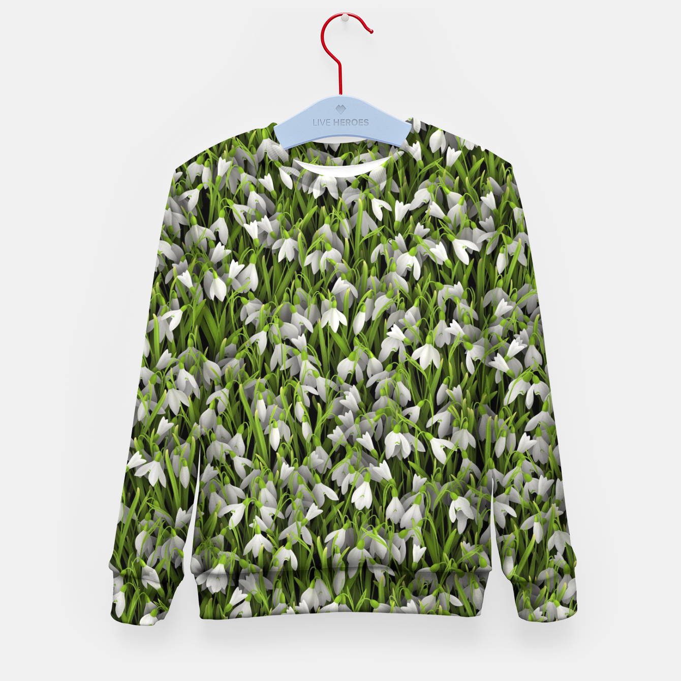 Image of Snowdrops Kid's sweater - Live Heroes