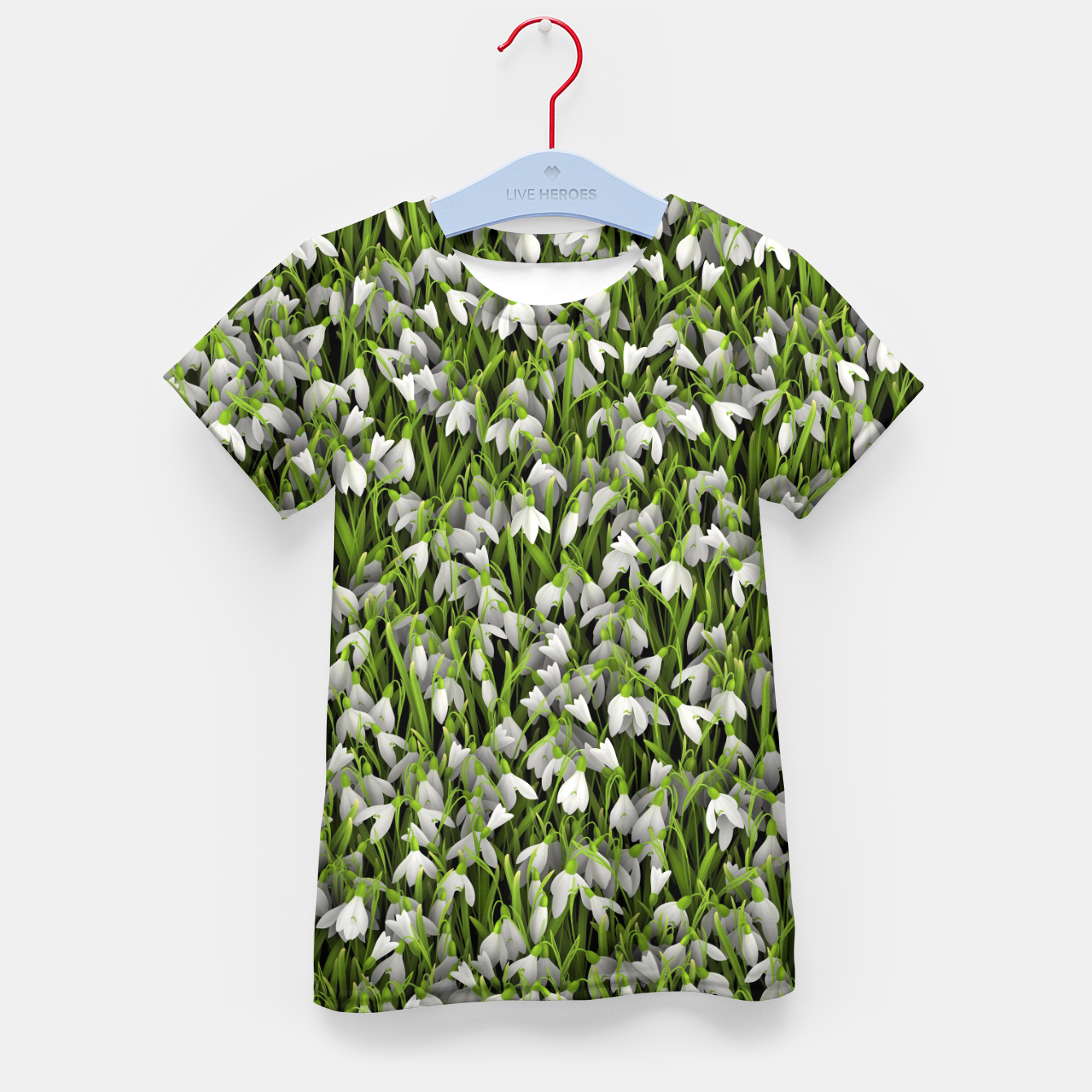 Image of Snowdrops Kid's t-shirt - Live Heroes