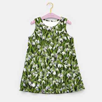 Miniature de image de Snowdrops Girl's summer dress, Live Heroes