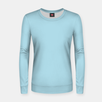 Thumbnail image of color light blue Women sweater, Live Heroes