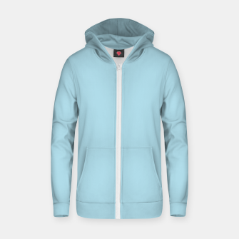 Thumbnail image of color light blue Zip up hoodie, Live Heroes