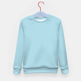 Thumbnail image of color light blue Kid's sweater, Live Heroes