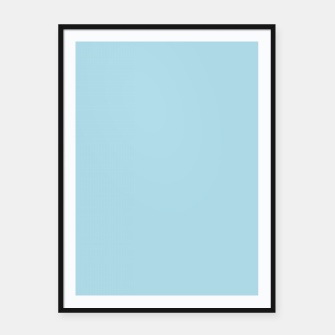 Imagen en miniatura de color light blue Framed poster, Live Heroes