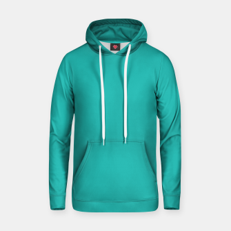 Thumbnail image of color light sea green Hoodie, Live Heroes