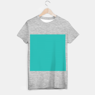 Thumbnail image of color light sea green T-shirt regular, Live Heroes