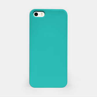 Thumbnail image of color light sea green iPhone Case, Live Heroes