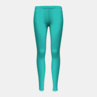 Imagen en miniatura de color light sea green Girl's leggings, Live Heroes