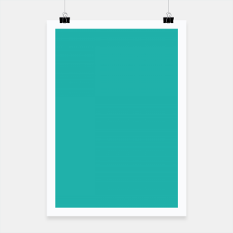 Thumbnail image of color light sea green Poster, Live Heroes