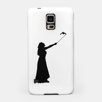 Miniatur Self Destructive Behavior Concept Graphic Illustration Samsung Case, Live Heroes