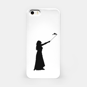 Miniatur Self Destructive Behavior Concept Graphic Illustration iPhone Case, Live Heroes