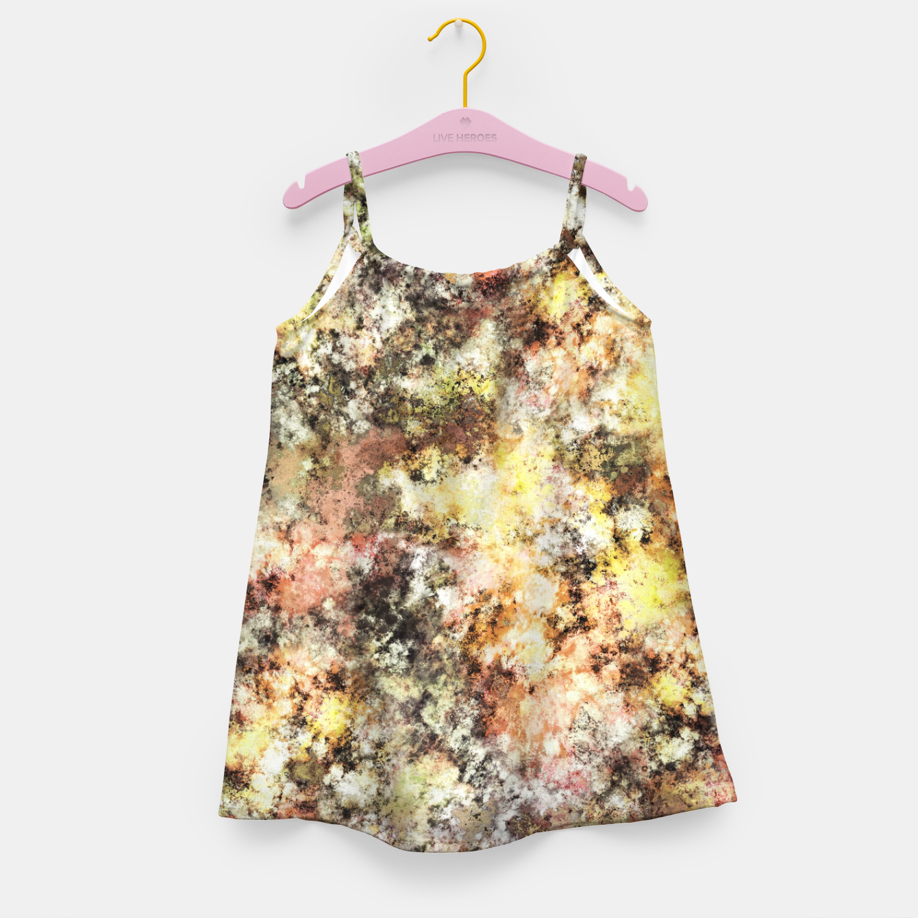 Image of A little cool sunlight Girl's dress - Live Heroes