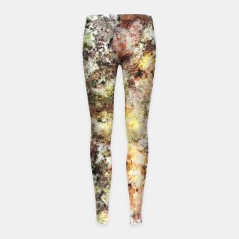 Thumbnail image of A little cool sunlight Girl's leggings, Live Heroes