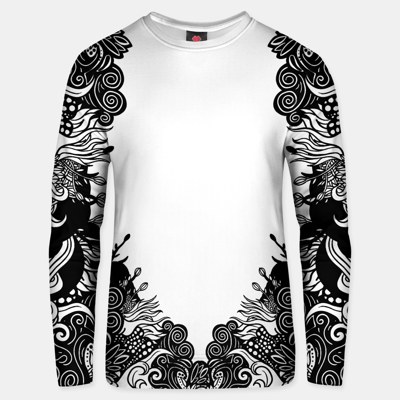 Foto Floral Unisex sweater - Live Heroes