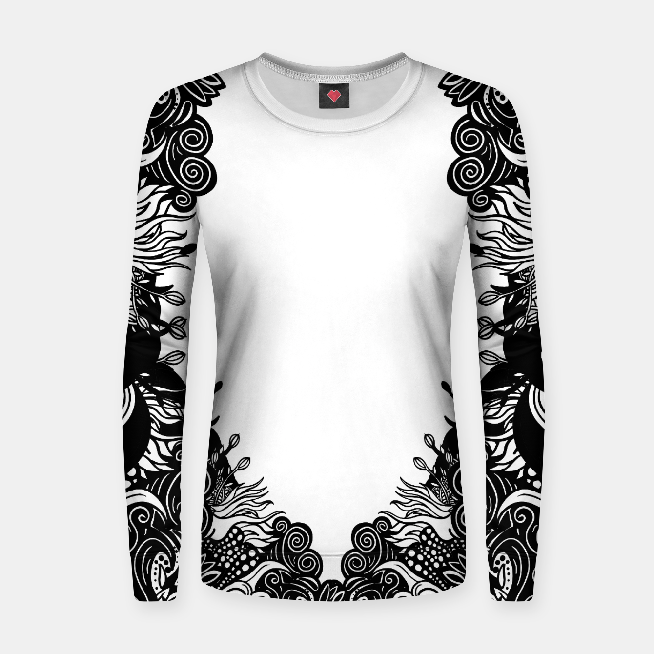 Foto Floral Women sweater - Live Heroes