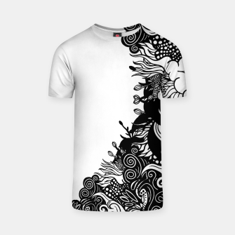 Thumbnail image of Floral T-shirt, Live Heroes