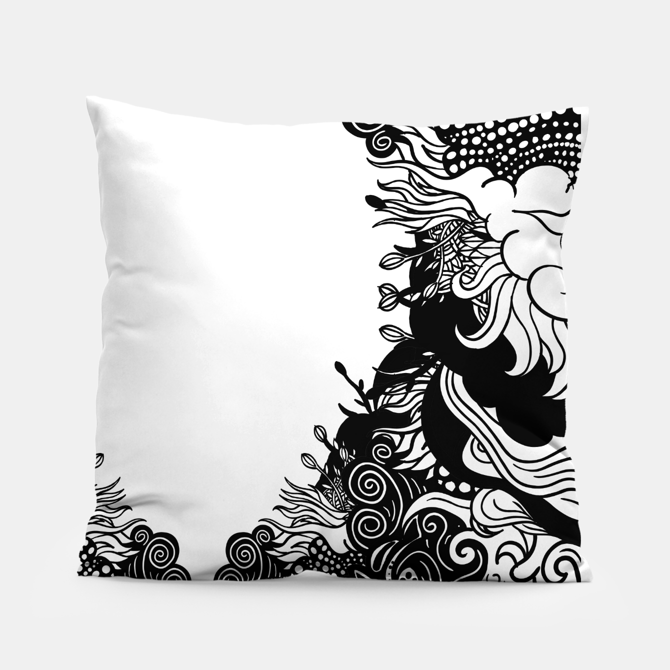 Foto Floral Pillow - Live Heroes