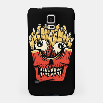 Miniatur Zombie French Fries Samsung Case, Live Heroes
