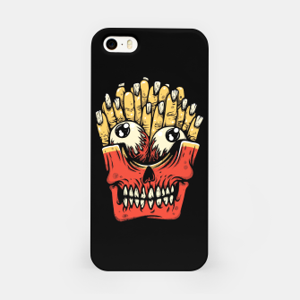 Miniatur Zombie French Fries iPhone Case, Live Heroes