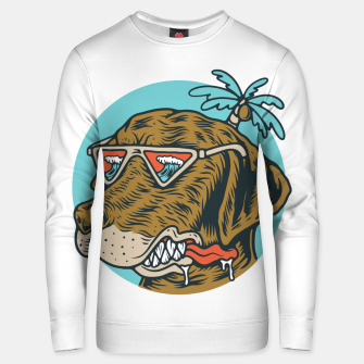 Miniatur Chill Dog Unisex sweater, Live Heroes