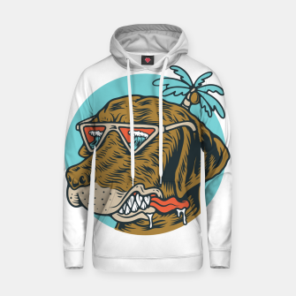 Thumbnail image of Chill Dog Hoodie, Live Heroes
