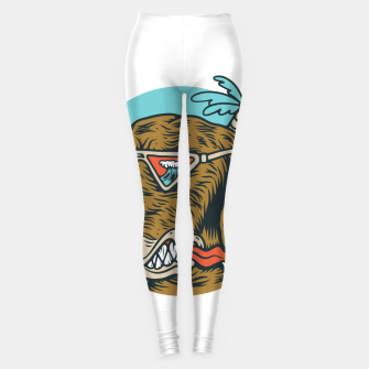 Thumbnail image of Chill Dog Leggings, Live Heroes
