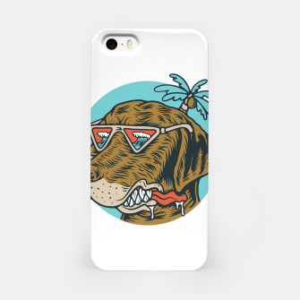 Miniatur Chill Dog iPhone Case, Live Heroes