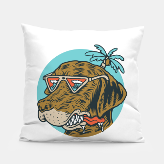 Thumbnail image of Chill Dog Pillow, Live Heroes