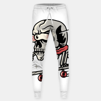 Thumbnail image of Skull Skateboarding Sweatpants, Live Heroes