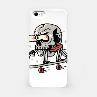 Thumbnail image of Skull Skateboarding iPhone Case, Live Heroes
