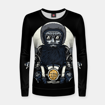 Thumbnail image of Old Biker Women sweater, Live Heroes