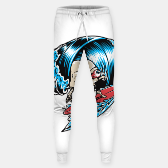 Thumbnail image of Skull Surfing Sweatpants, Live Heroes