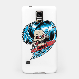 Thumbnail image of Skull Surfing Samsung Case, Live Heroes