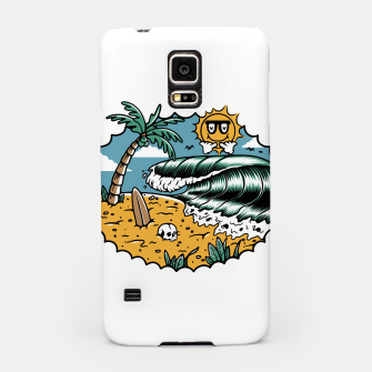 Miniatur Good Wave Samsung Case, Live Heroes