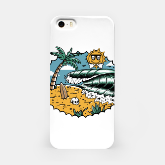 Miniatur Good Wave iPhone Case, Live Heroes