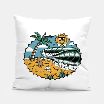 Miniatur Good Wave Pillow, Live Heroes