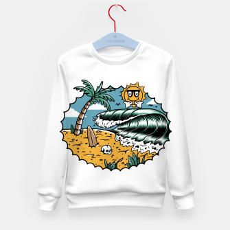 Miniatur Good Wave Kid's sweater, Live Heroes