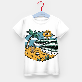 Miniatur Good Wave Kid's t-shirt, Live Heroes
