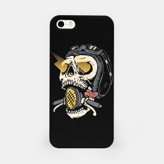 Thumbnail image of Skull Biker iPhone Case, Live Heroes