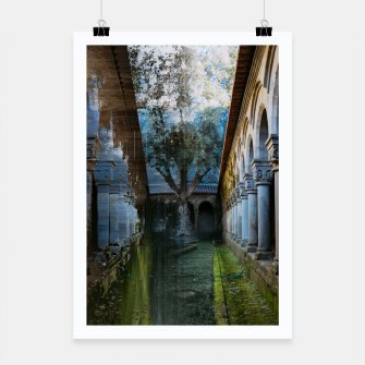 Thumbnail image of Guimarães Garden Glitch Poster, Live Heroes