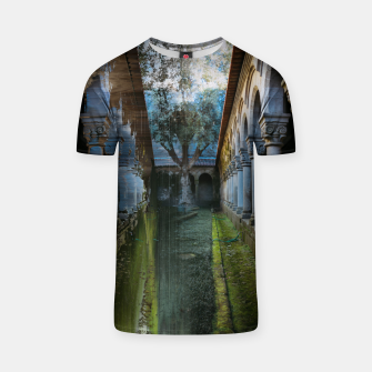 Thumbnail image of Guimarães Garden Glitch T-shirt, Live Heroes