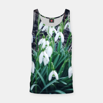 Thumbnail image of snowdrops Tank Top, Live Heroes