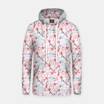 Miniatur Cherry blossom Hoodie, Live Heroes