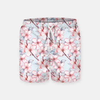 Thumbnail image of Cherry blossom Swim Shorts, Live Heroes