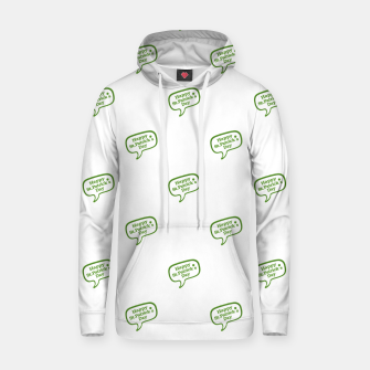 Thumbnail image of Happy St Patricks Day Symbol Motif Pattern Hoodie, Live Heroes