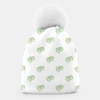 Thumbnail image of Happy St Patricks Day Symbol Motif Pattern Beanie, Live Heroes